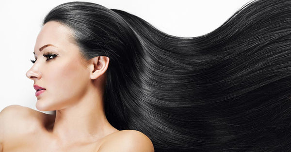 Natural Ingredients for long and shiny hair