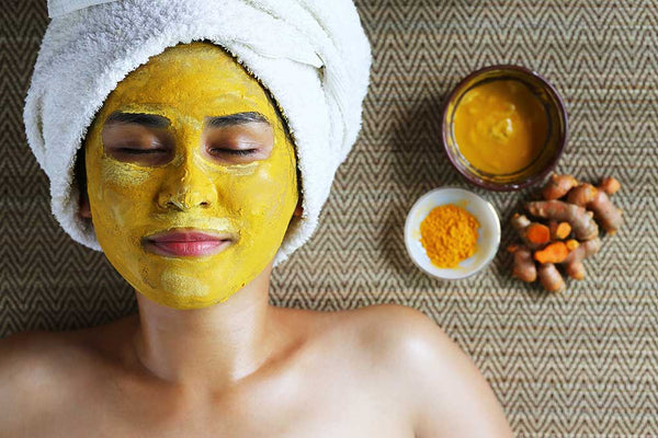 Simple DIY Turmeric Face Mask for Glowing Skin