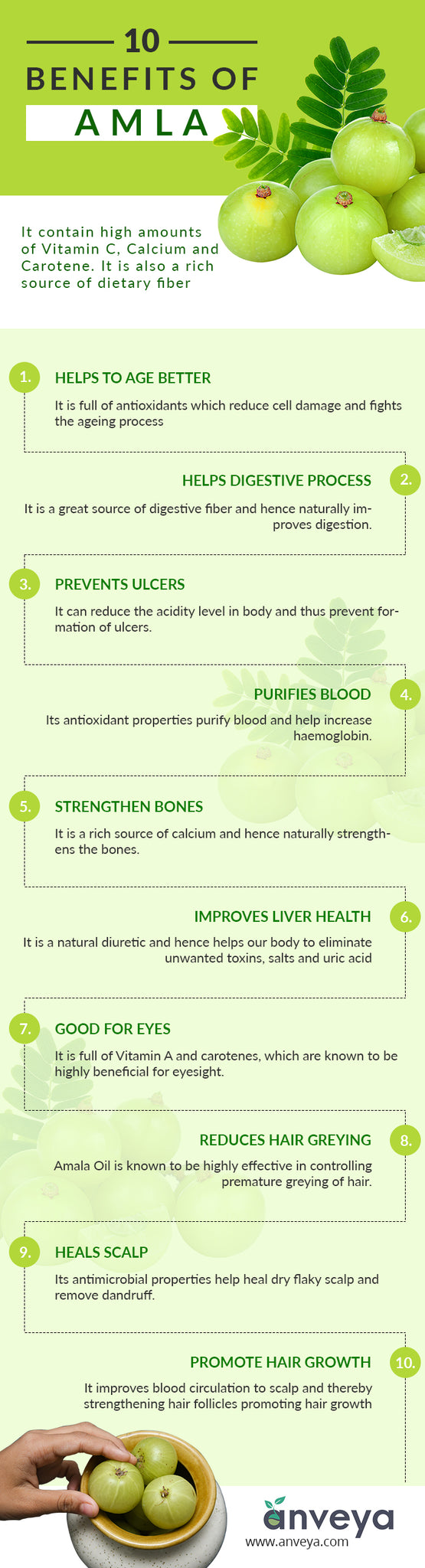 10 Benefits of Amla