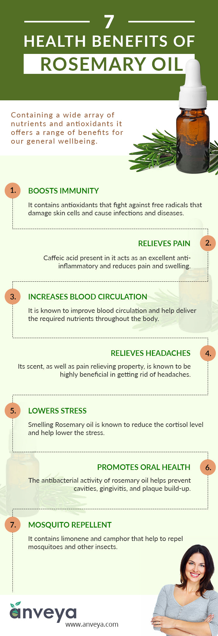 7 Health Benefits of Rosemary Oil