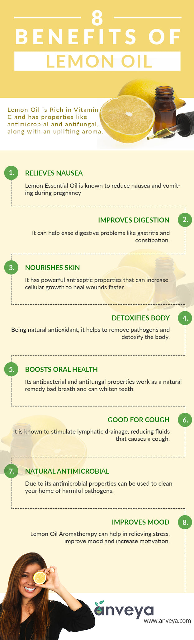 8 Benefits of Lemon Oil