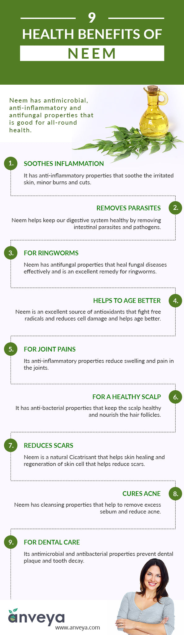 9 Benefits of Neem