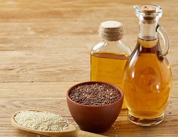 Castor-Oil-with-Sesame-Oil-for-Hair