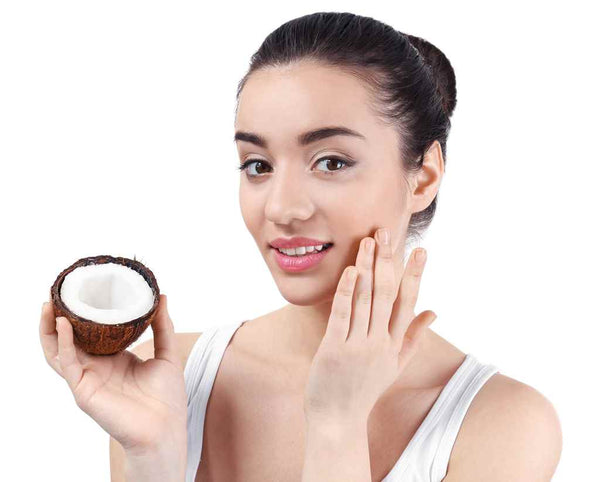 DIY for acne Tea tree oil and coconut oil for face