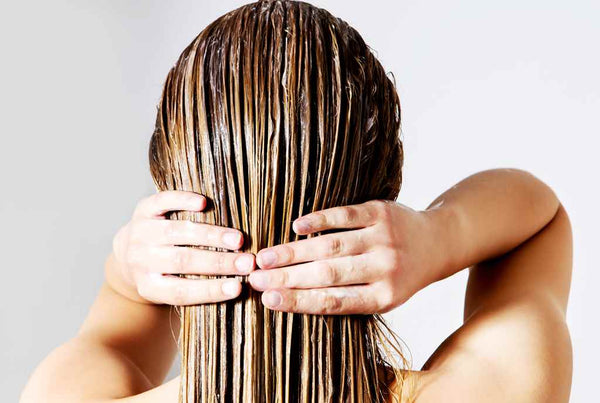 Diy peppermint oil massage on hair