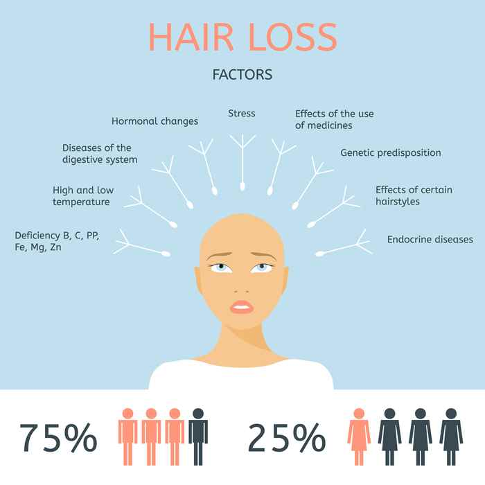 Infographics_Factors of hair loss.