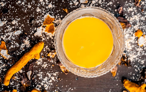 Milk And Turmeric Exfoliator