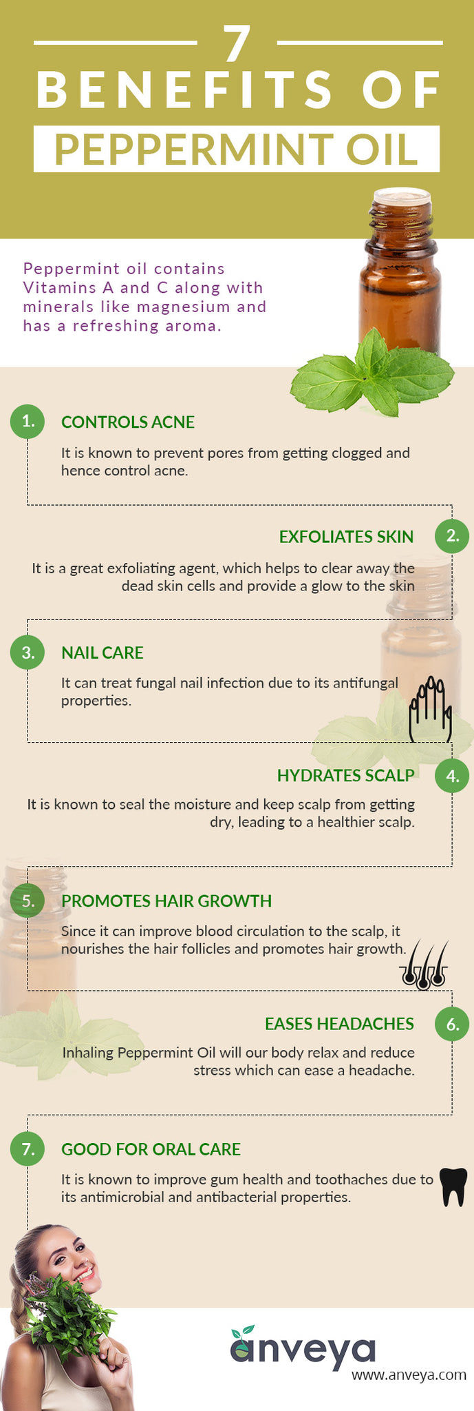 7 Benefits of Peppermint Oil