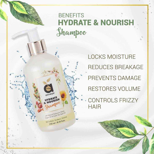 Benefits of anveya hydrate and nourish shampoo
