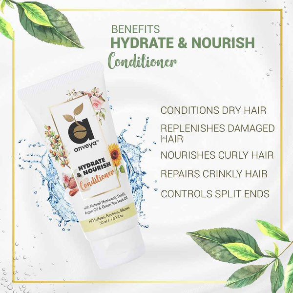Benefits of hydrate and nourish conditioner