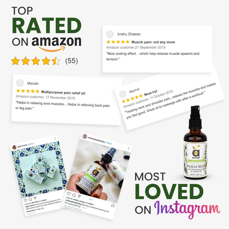 best muscle relief oil on amazon