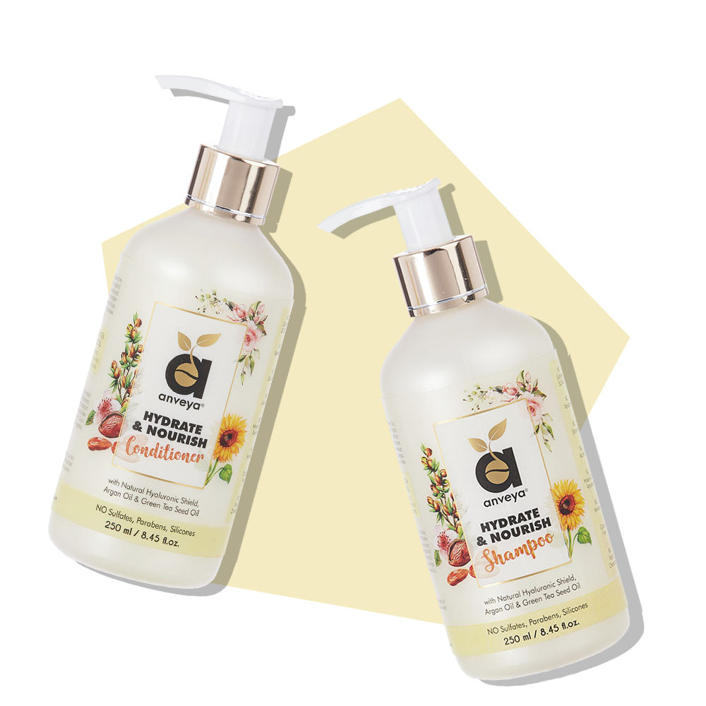 Hydrate and nourish shampoo and conditioner