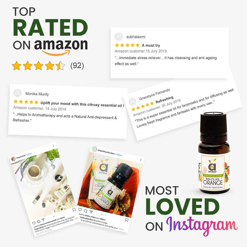 Top rated orange oil on amazon