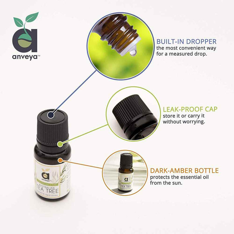 anveya tea tree oil dropper
