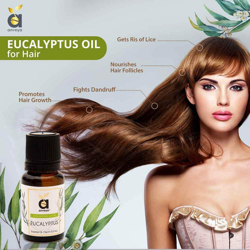 anveya eucalyptus oil for hair
