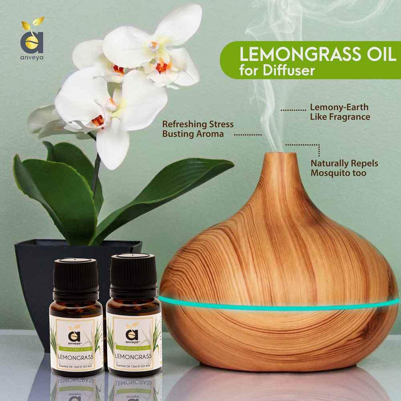 anveya lemongrass oil for diffuser