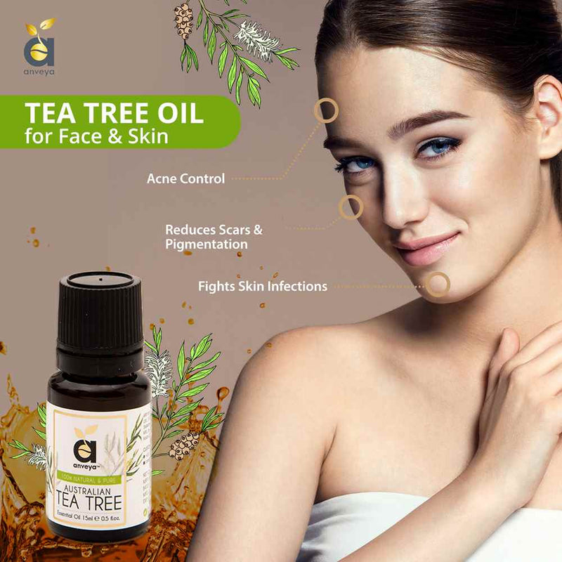 Anveya Tea tree oil for skin