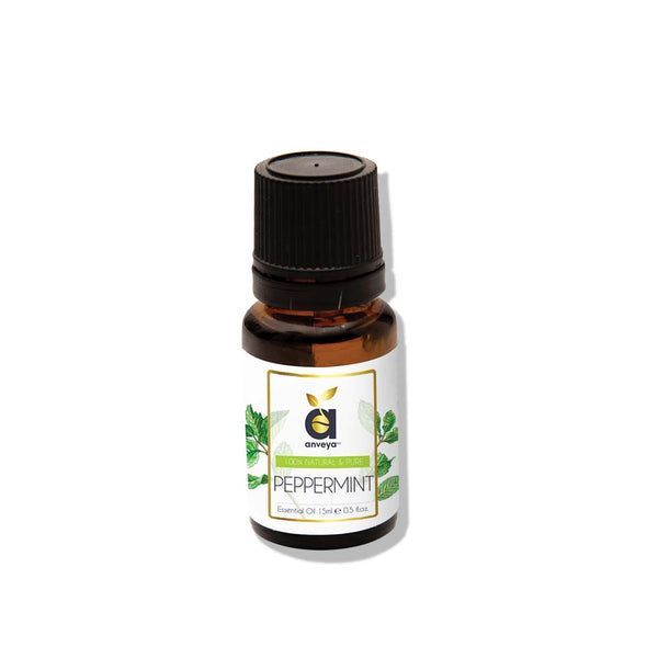 anveya peppermint oil for skin-hair-acne