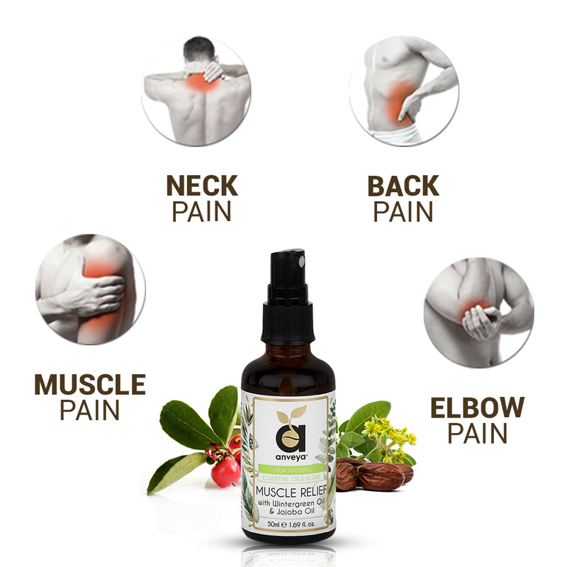 Benefits of Muscle relief Oil for Back, Knee, Leg Pain