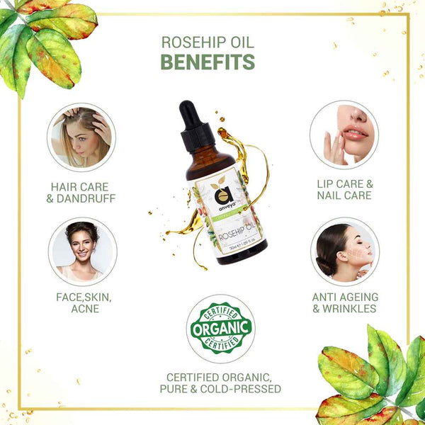 benefits of anveya rosehip oil