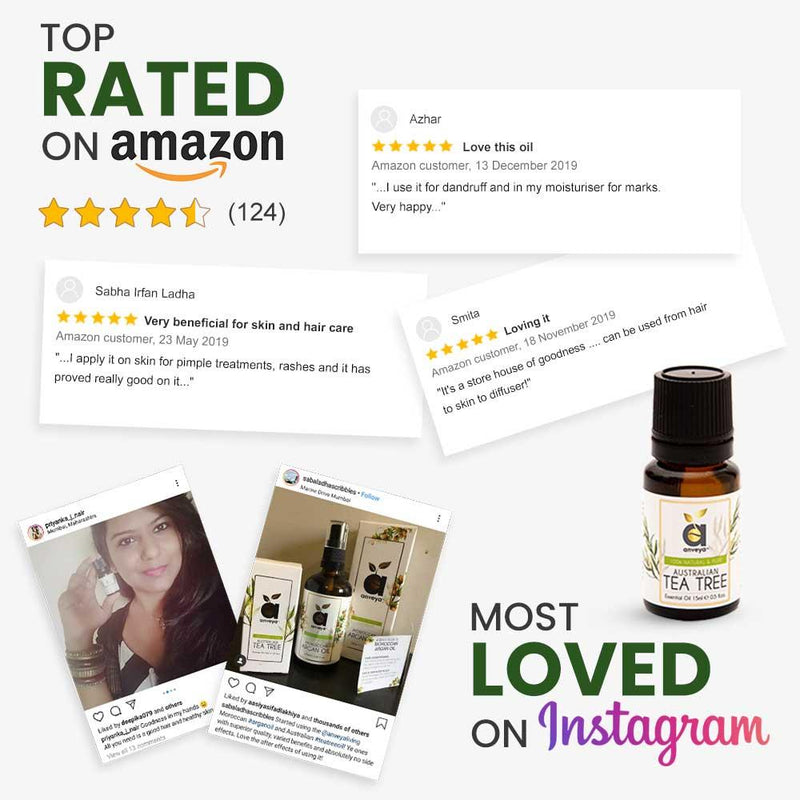 best rated tea tree oil on amazon