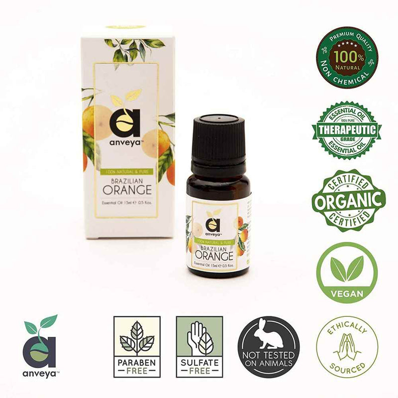 Certified Organic Anveya Orange Oil
