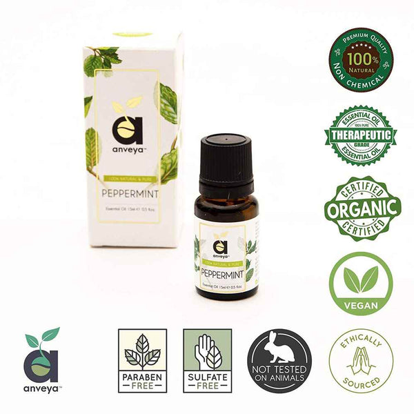 Certified Organic Anveya Peppermint Oil