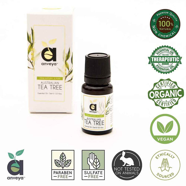 Certified Organic Anveya Tea Tree Oil