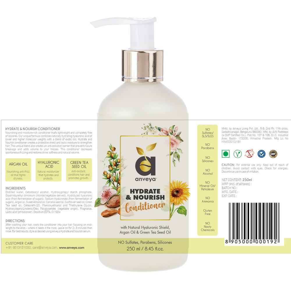 hydrate and nourish conditioner open label