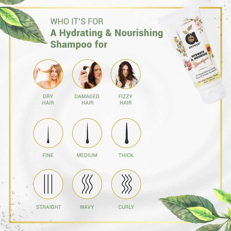 hydrate and nourish shampoo used for
