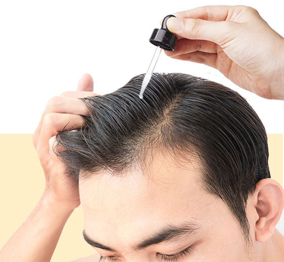 how to use anveya hair growth vitalizer