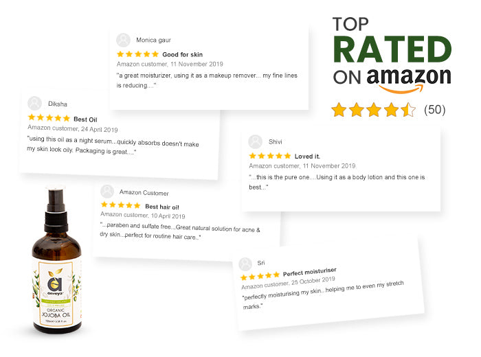 Best rated Jojoba oil in amazon