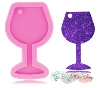 Stemmed Wine Glass Silicone Mold