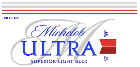 Michelob Waterslide Decal
