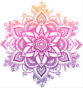 Mandala Waterslide Decal
