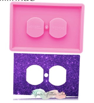 NEW! Double Outlet Plate Silicone Mold