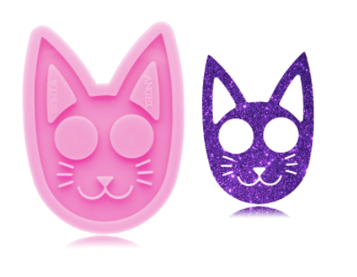 NEW! Kitty Cat Defense Silicone Mold