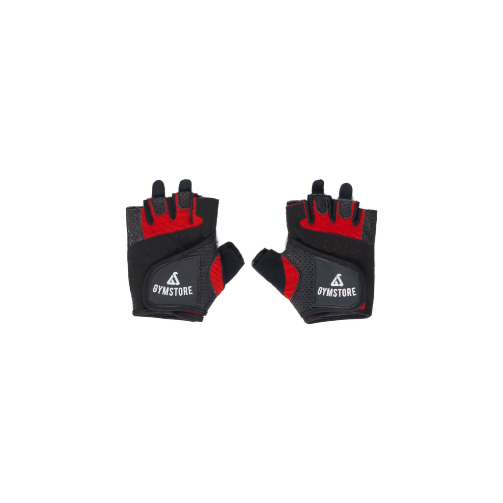 Gymstore Red/Black Summer Cycling Gloves
