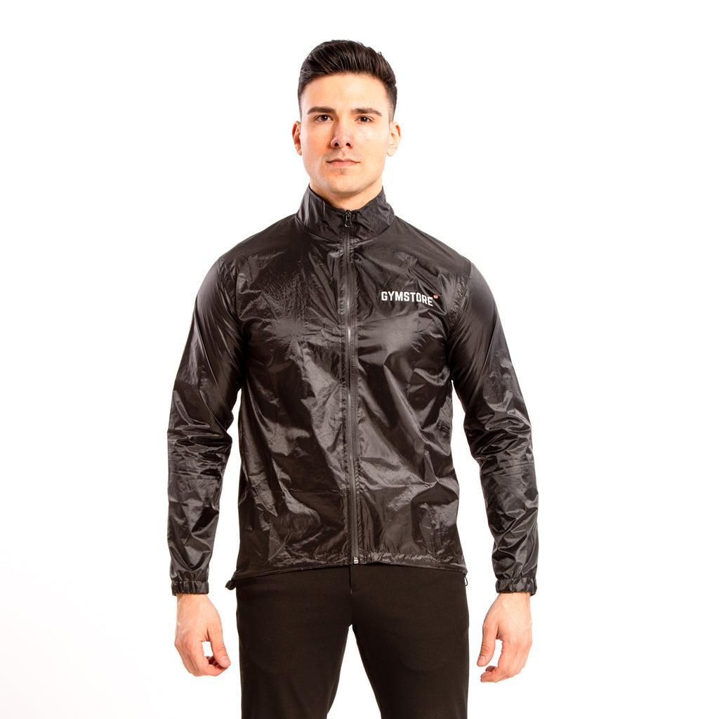 Gymstore Black Rain Jacket