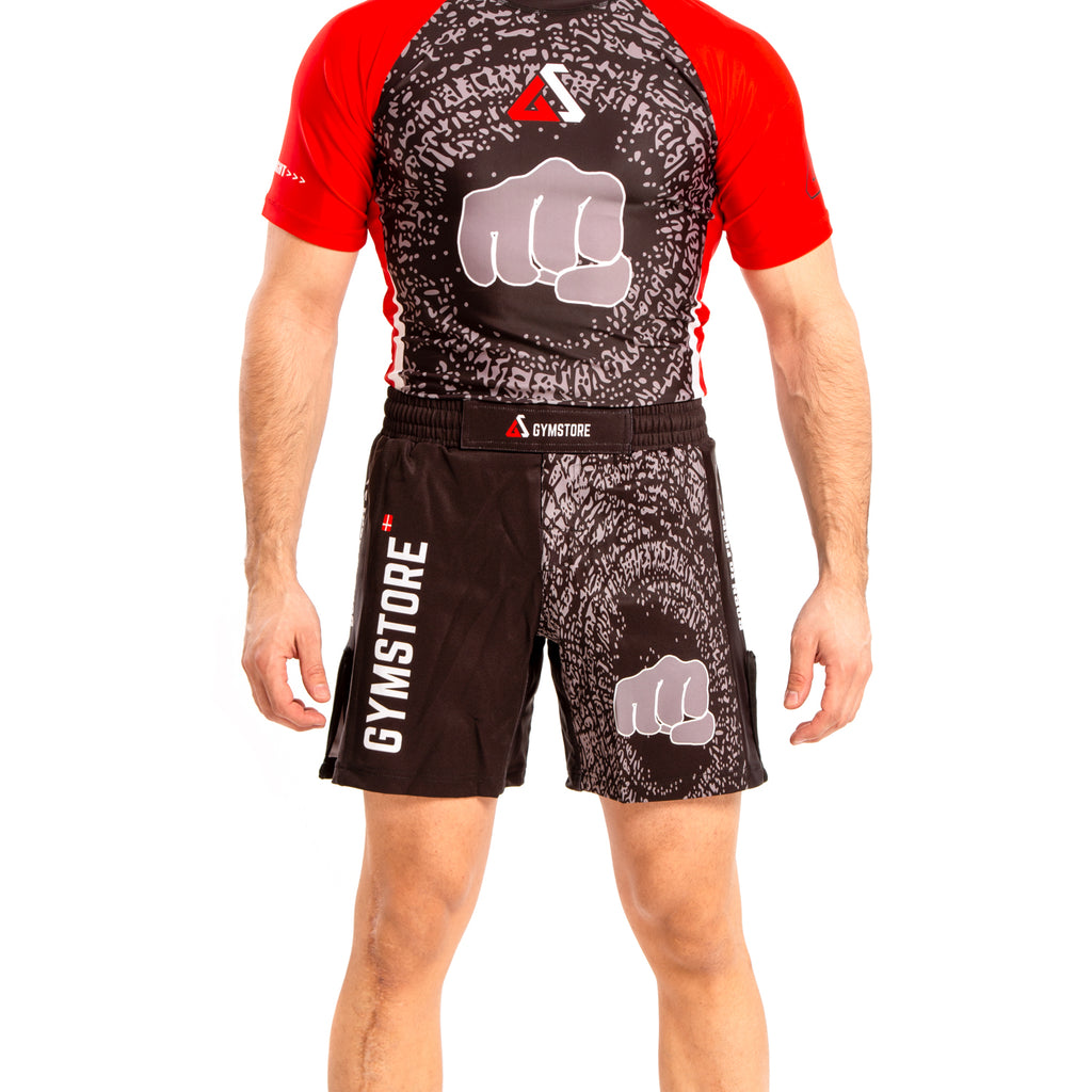 Gymstore Black MMA Shorts