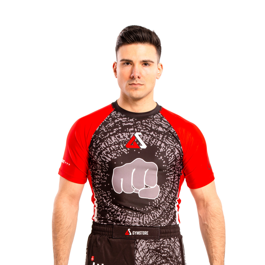 Gymstore Black/Red MMA T-Shirt