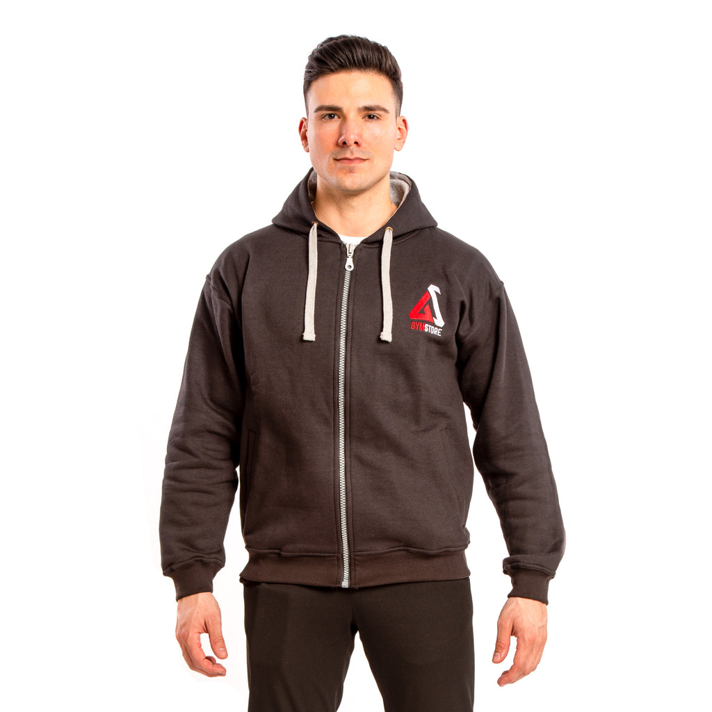 Gymstore Black MMA Fleece Hoodie winter