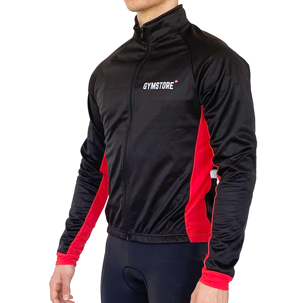 Gymstore Black/Red Winter Cycling Jakket