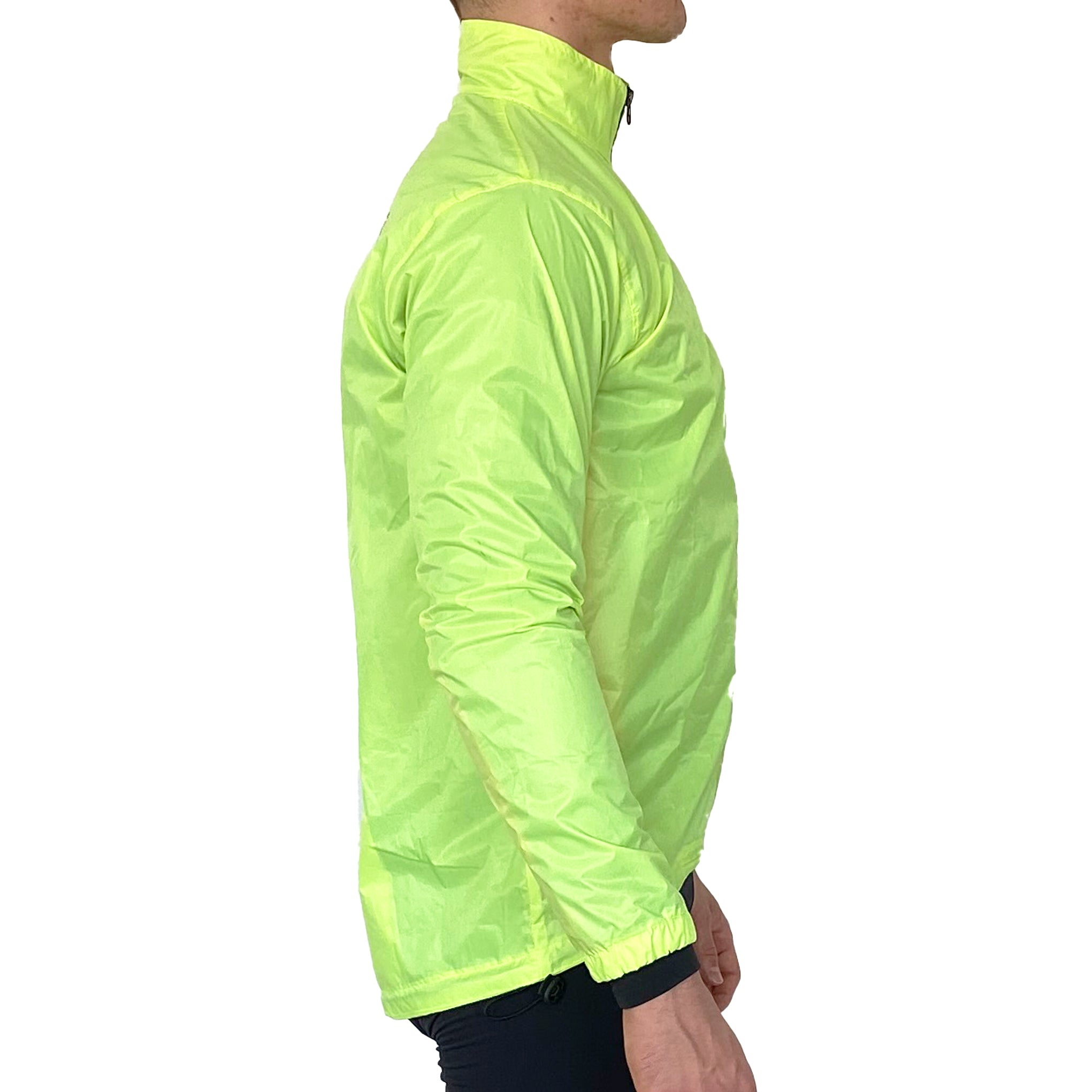 Gymstore Flur Green Cycling Rain Jacket