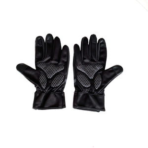 Gymstore Black/Grey Cycling Gloves Soft Shell
