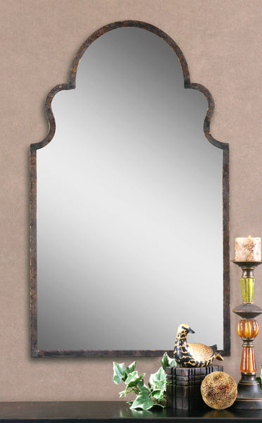 Brayden Arched Wall Mirror Home Comfort