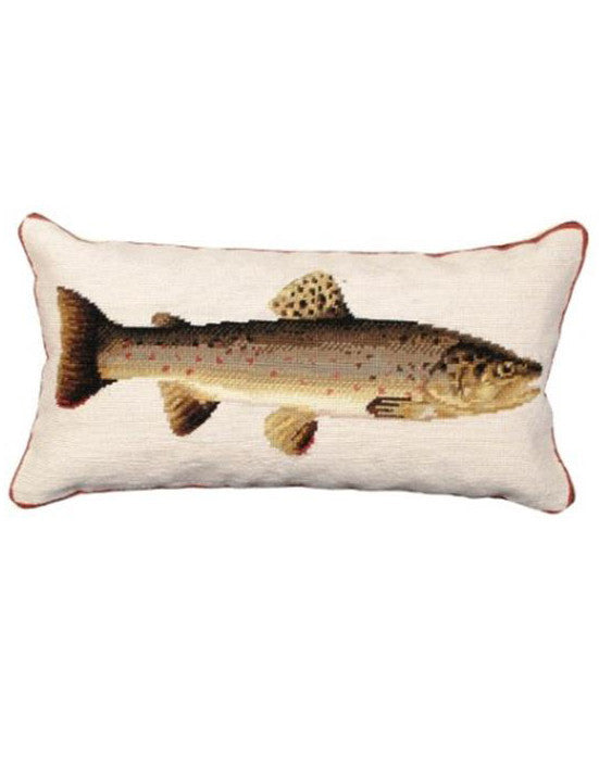 and original frame decor trading art artisans sweetwater crossman trout kidney leather rod home cutthroat sporting pillow company pillows wildlife