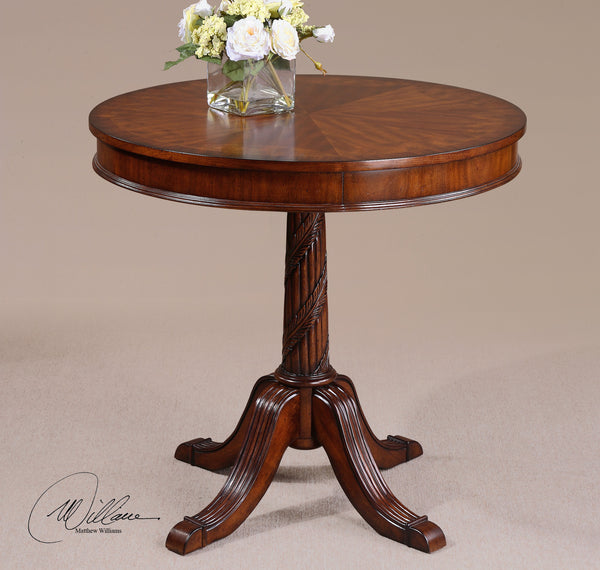 Brakefield round table home comfort for Table 52 oak brook