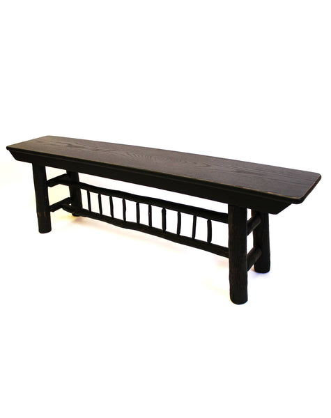 Hickory Spindle Bench 5 39 Home Comfort