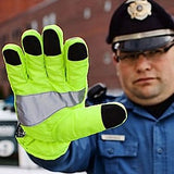 Gloves For Professionals GFP Hi Vis Traffic Control Gloves - 470